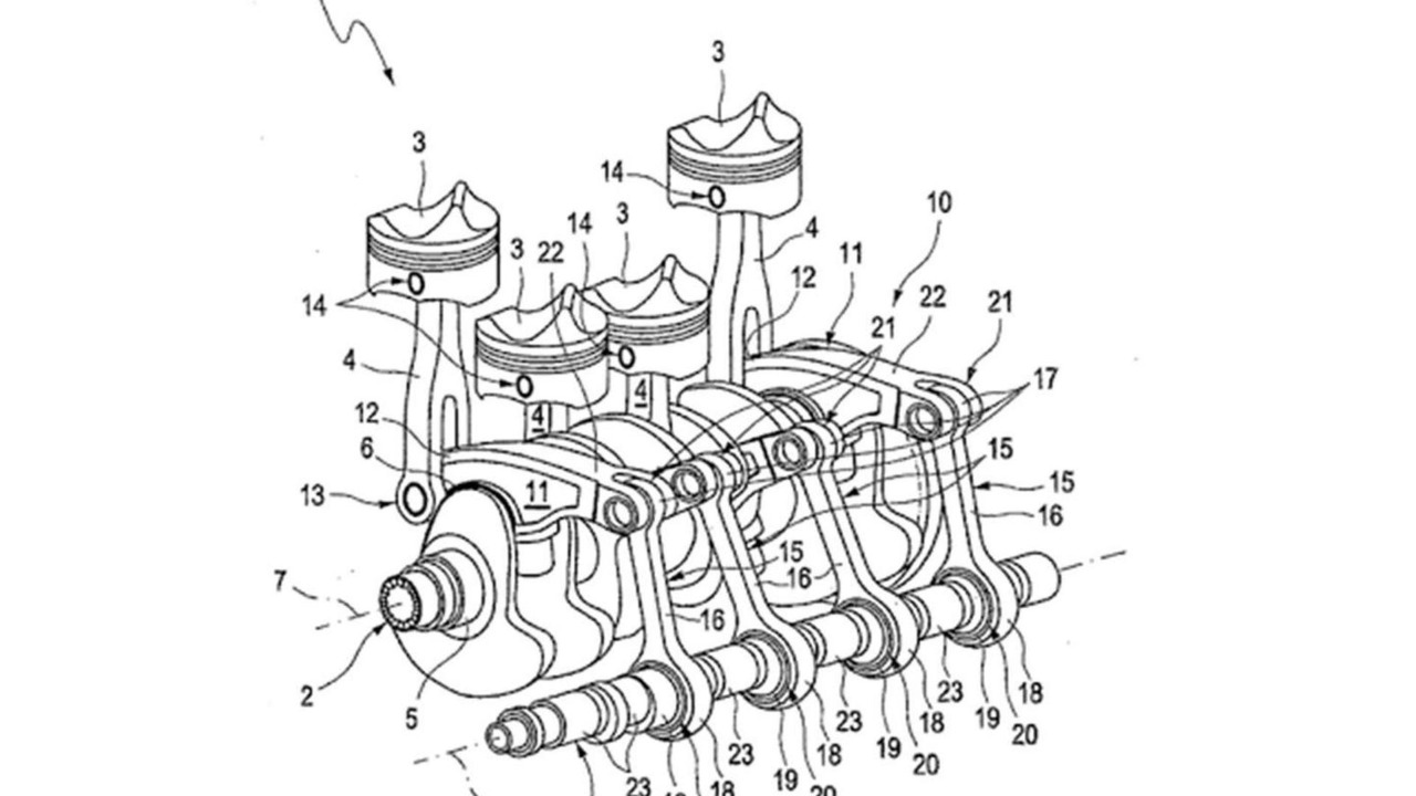 Audi's new four-cylinder engine
