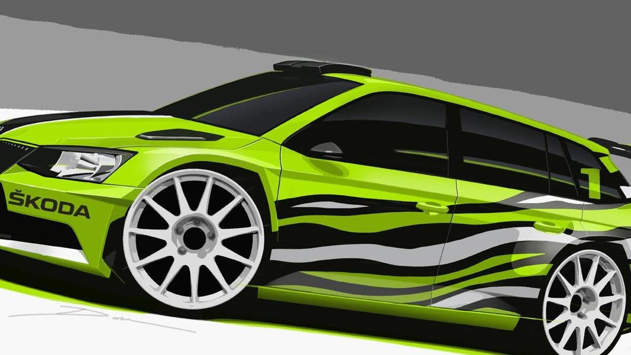 Skoda Fabia Combi R5 concept