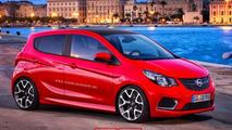 Opel Karl OPC render
