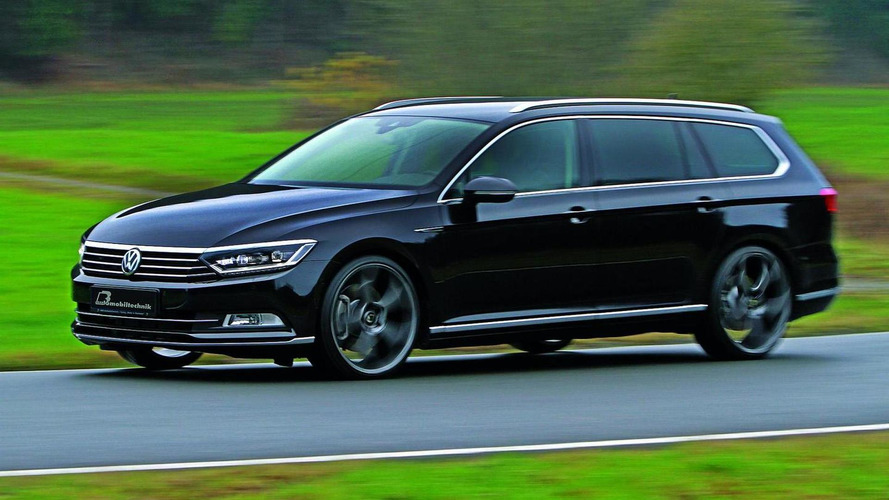 2015 Volkswagen Passat 2.0 BiTDI tuned to 300 HP and 630 Nm by B&B