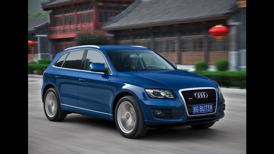 Audi Q5: prezzi da 40.300 a 48.700 euro
