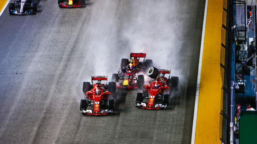 F1 Singapore Debrief: Verstappen Points The Finger At Vettel