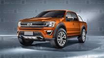 Ford Ranger render