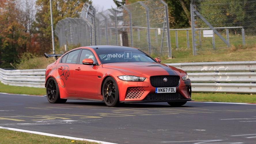 Jaguar XE SV Project 8 Spied On Nürburgring, Gunning For Record