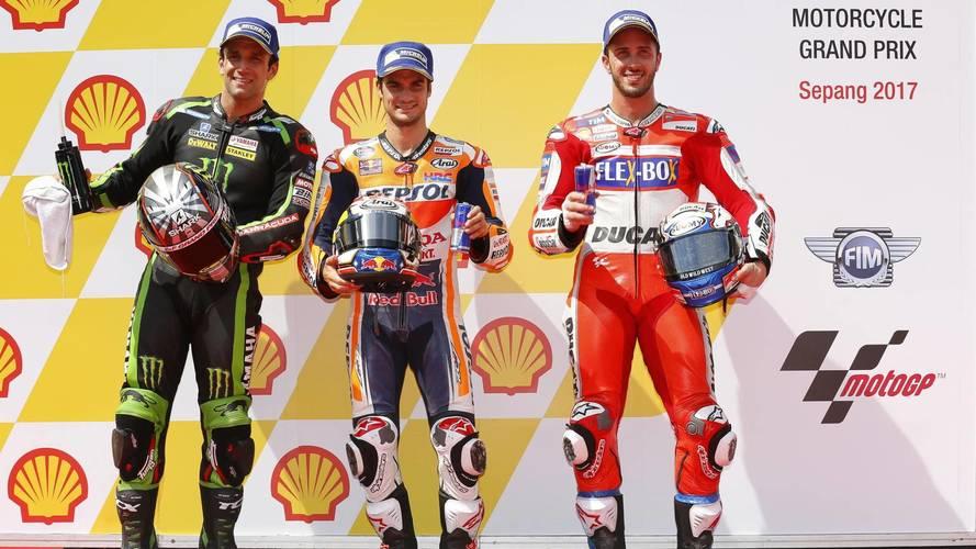 Dani Pedrosa se anota su tercera pole del año en MotoGP