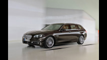 BMW Serie 5 restyling: prova su strada della Touring, la station wagon [VIDEO]