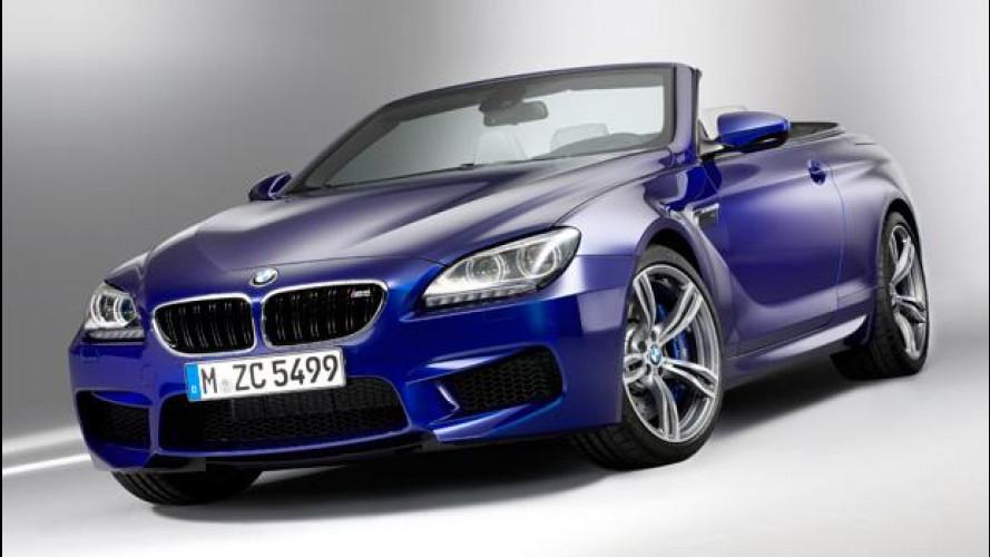 Nuova BMW M6 Cabrio: prezzi da 139.700 euro