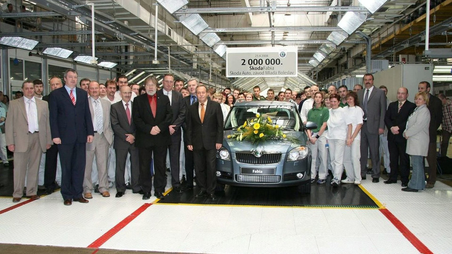 Skoda Fabia Two Million Milestone