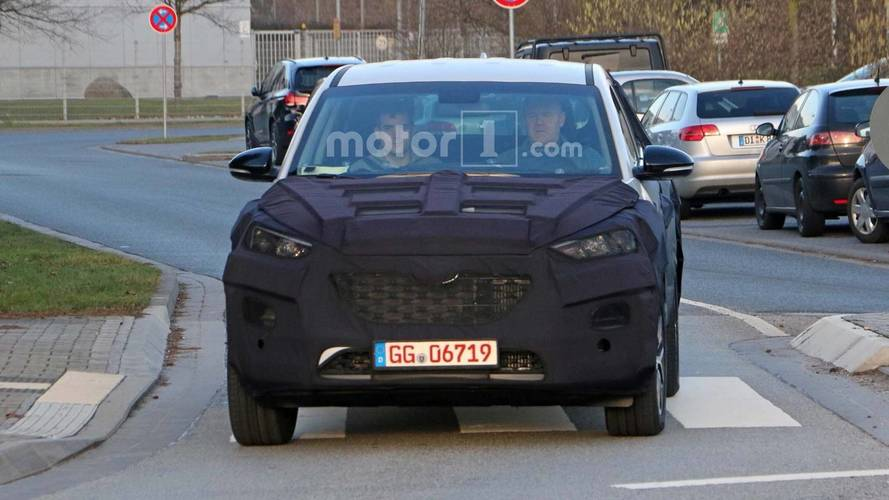 Hyundai Tuscon Facelift spy photos