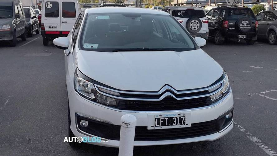 Citroën C4 Lounge 2018 perde camuflagem