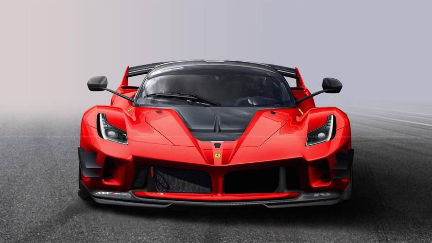 Ferrari, yolda kullanımı yasal bir FXX K Evo üretseydi nasıl olurdu?