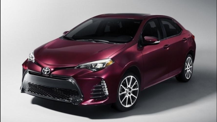 Toyota Corolla è l'auto più venduta di sempre