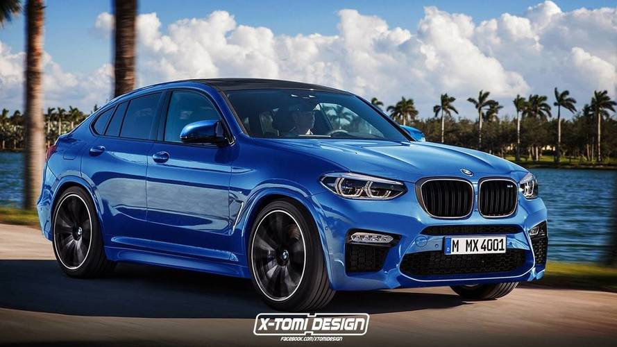 BMW X4 M Will Probably Look A Lot Like This