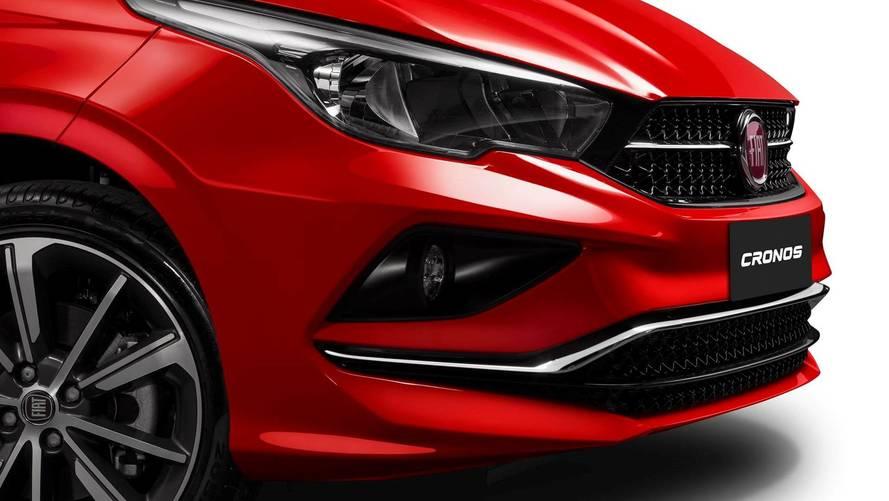 Fiat Cronos tem painel e mais detalhes divulgados