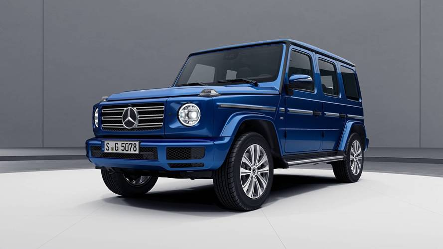 Mercedes Clase G 2018 Stainless Steel