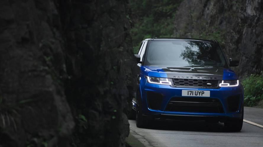 Bukócsövezett változat készülhet a Range Rover Sport SVR-ből