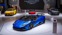 9. Lamborghini Huracan Performante Spyder
