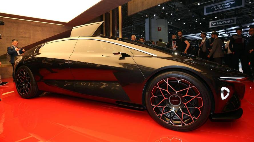 Aston Martin Lagonda Vision Concept: el retorno de un nombre mítico