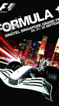 Singapore F1 poster