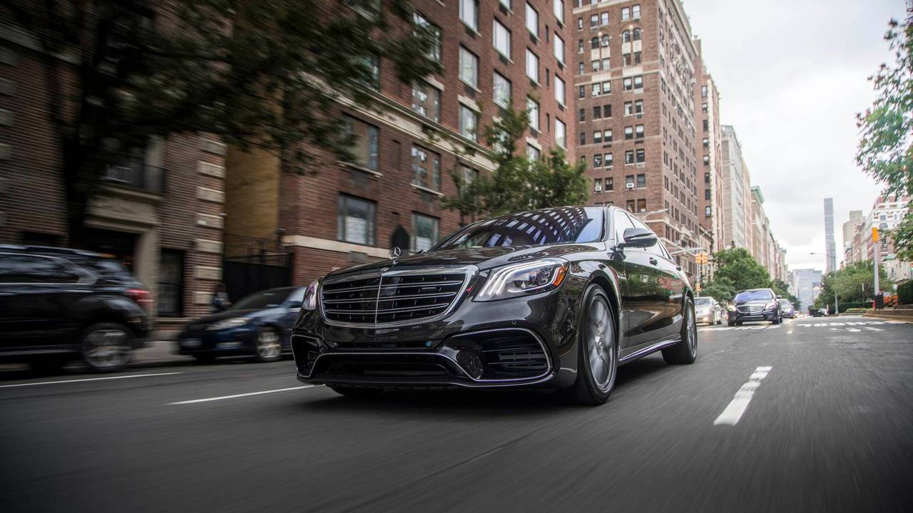 3. Large Cars: Mercedes-Benz S63 AMG