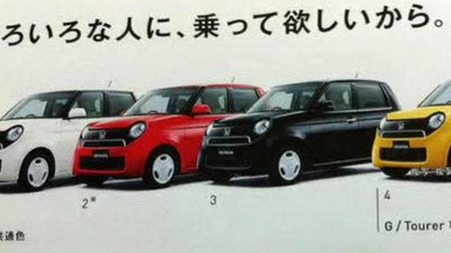 Honda N-One revealed in leaked brochure