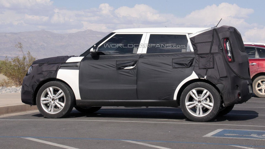 2014 Kia Soul spied for the first time