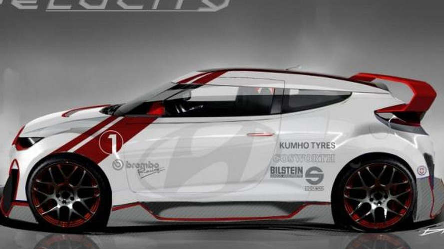 Hyundai Velocity Veloster Concept - 2012 SEMA [video]