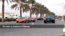Nissan Juke-R street race demonstration in Dubai 31.01.2012