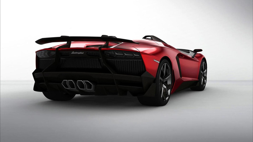 Special one-off Lamborghini Aventador J Speedster officially unveiled