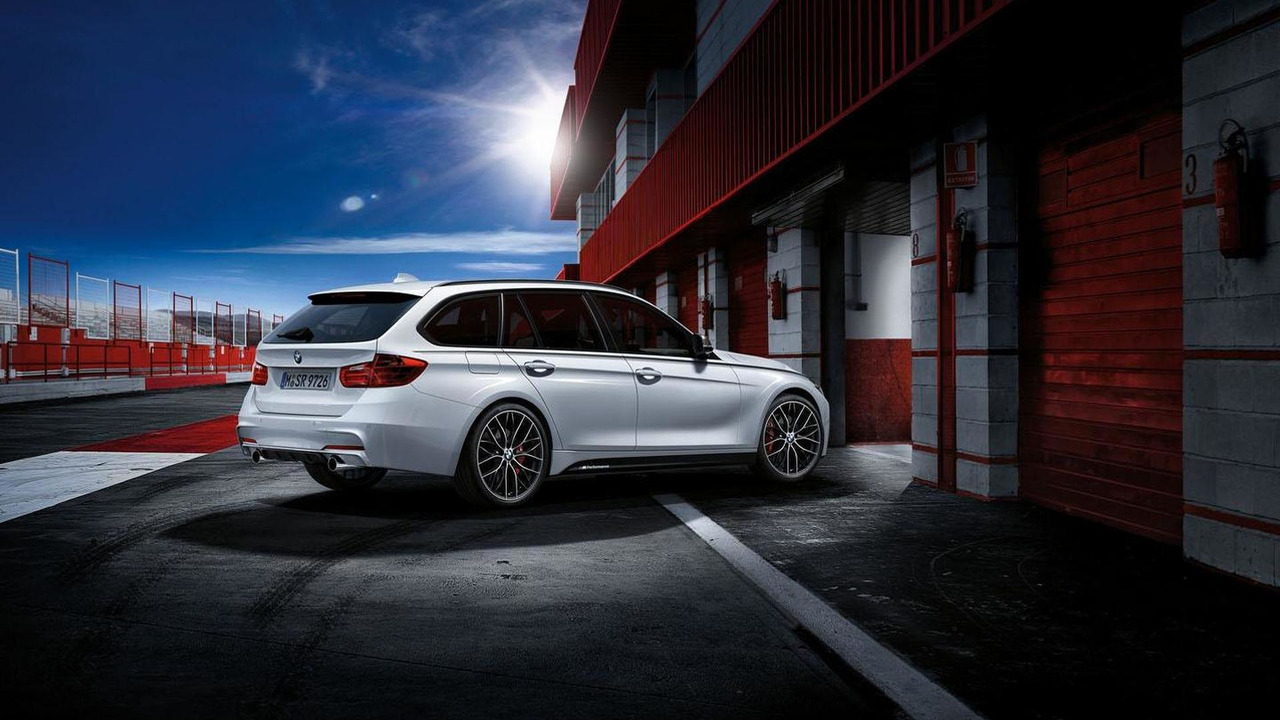 BMW 3-Series Touring with M Performance accessories 30.10.2012