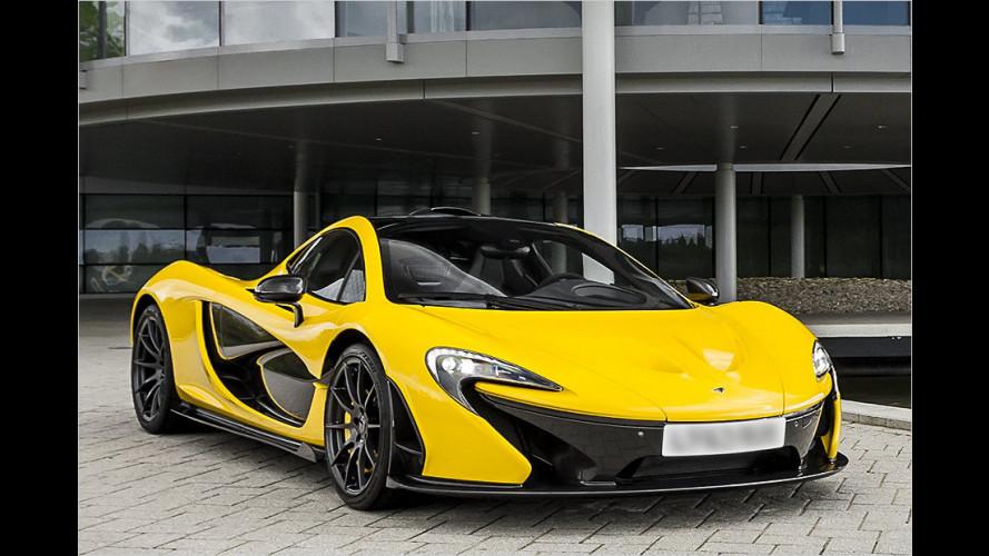McLaren P1: Auf zum Hybriden-Kampf