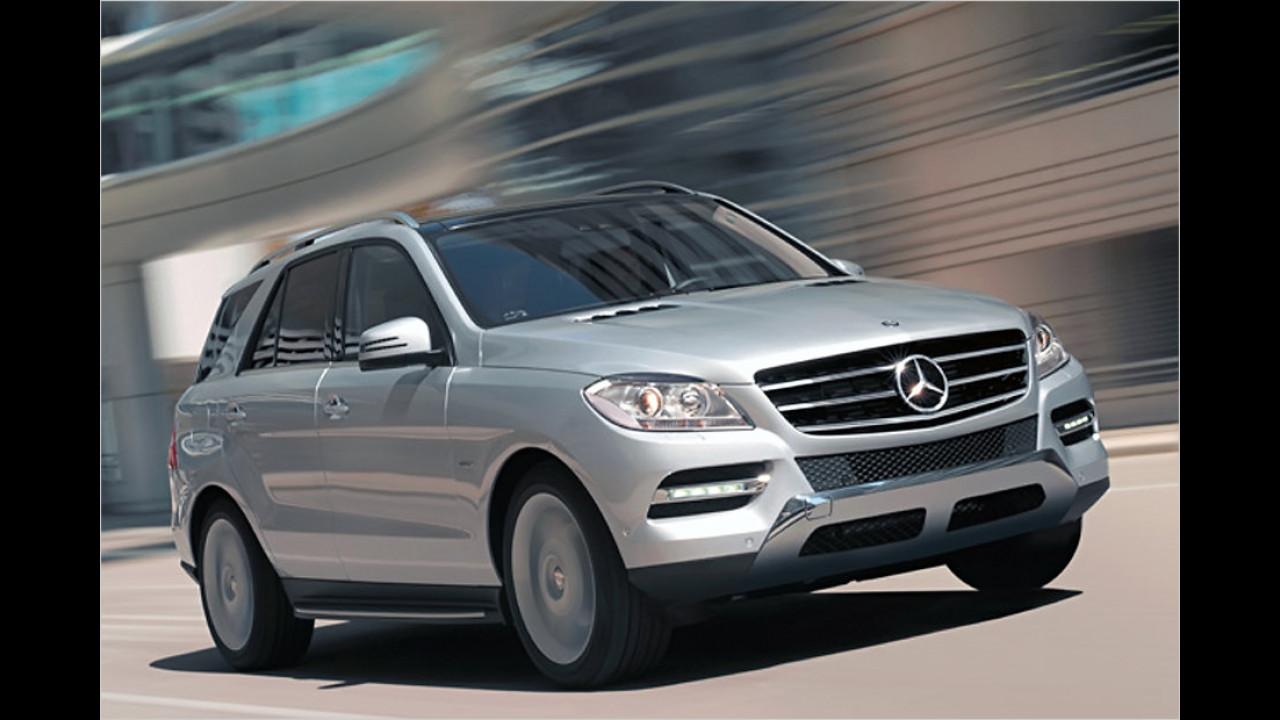 Geländewagen/SUV, 50.001 bis 100.000 Kilometer: Mercedes M-Klasse (2011)