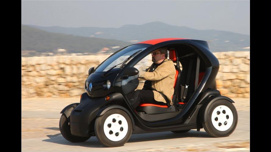 Renault Twizy: Spannung in der Stadt