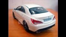 Brincadeira? Novo Mercedes CLA tem detalhes revelados através de carrinho em miniatura