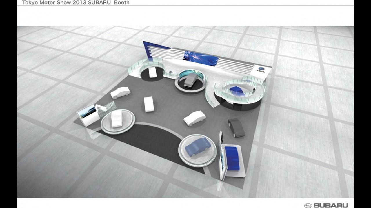 Subaru prepara três conceitos para o Salão de Tóquio