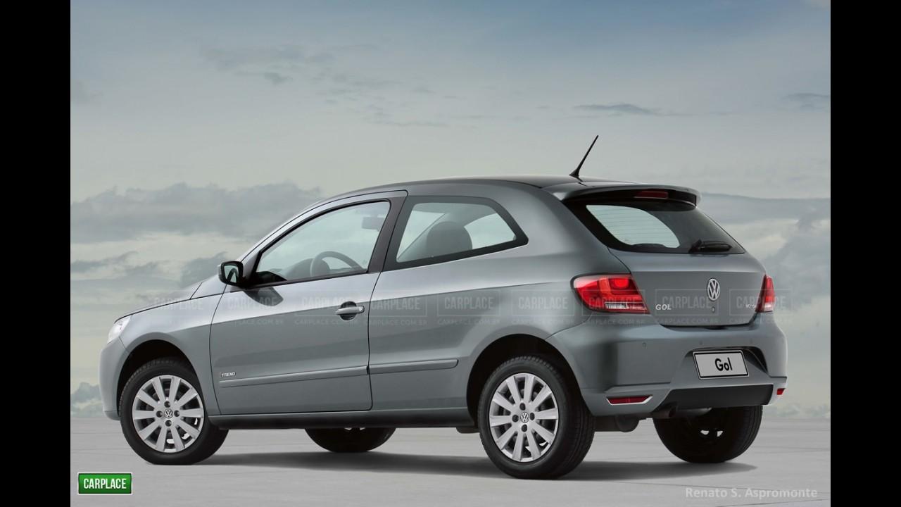 Linha 2013,5: Volkswagen Gol e Voyage reestilizados serão lançados em julho