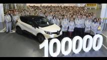 Renault já comemora 100 mil unidades do Captur - modelo chega ao Brasil em 2014
