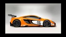McLaren 650S GT3: versão de corrida estreia no festival de Goodwood