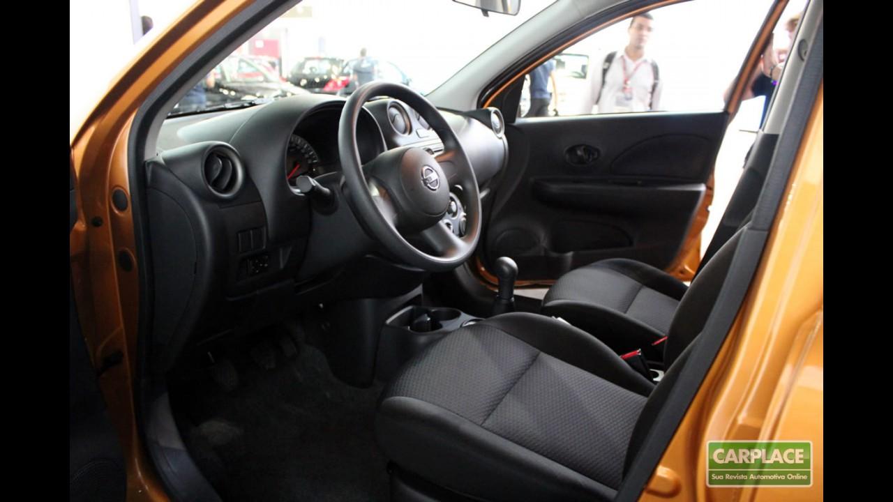 Nissan March 1.0 com airbags custa R$ 27.800 - Versão 1.0 S chega por R$ 33.390