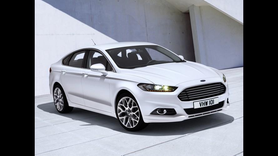 Nova geração do Ford Mondeo terá cintos de segurança com airbags na Europa