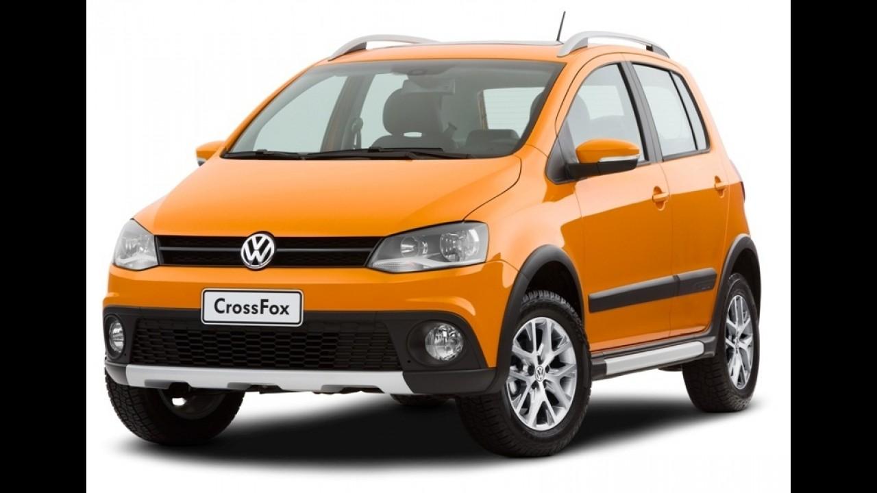 Volkswagen CrossFox 2013 ganha opção de transmissão automatizada I-Motion