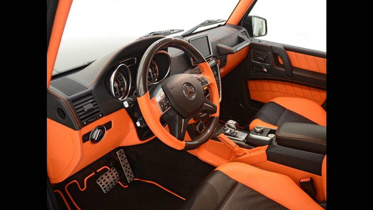 Brabus traz Mercedes Classe G de 600 cavalos ao Brasil por R$ 857 mil