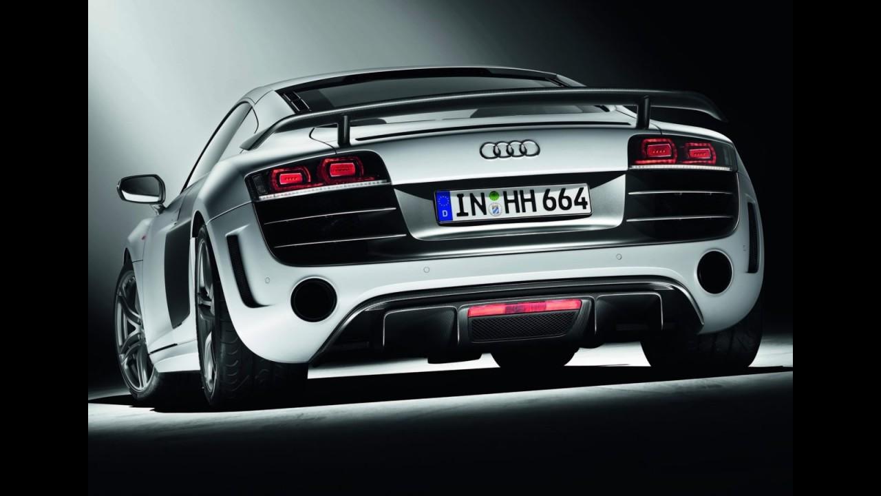 Audi R8 GT 2011 - Edição Limitada tem motor V10 de 560 cv - Veja fotos