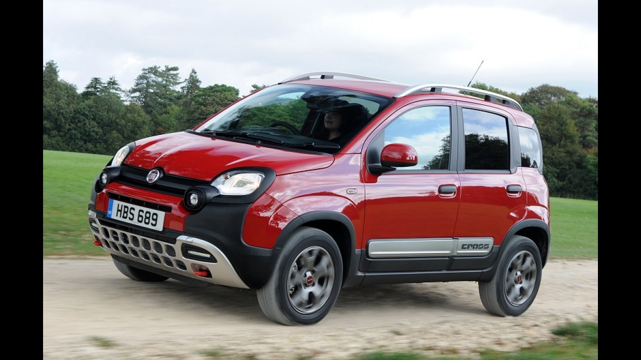 Jeep pode ter crossover menor que o Renegade baseado no Panda Cross