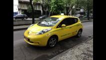 Nissan Leaf na praça: a divertida rotina de dirigir um táxi elétrico no Brasil