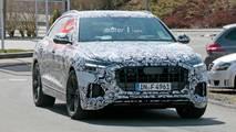 Audi RS Q8 en photos espion