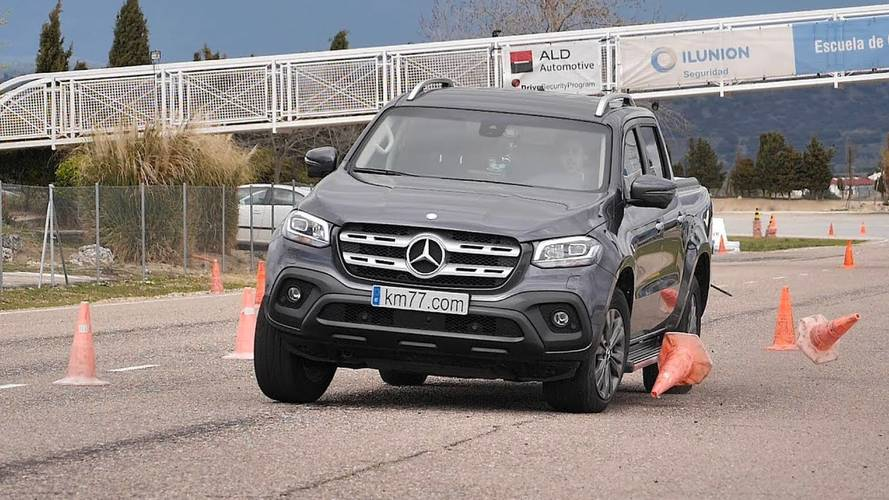 Mercedes X-Class Undergoes Dreaded Moose Test