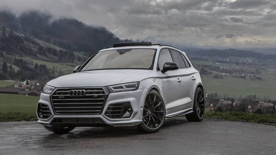 ABT dokunuşlu Audi SQ5 fotoğraf çekiminde
