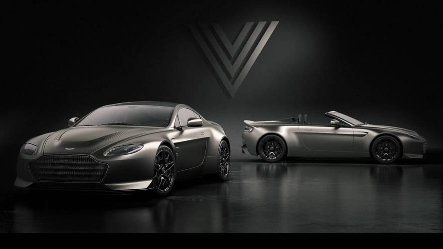 Aston Martin V12 Vantage V600, una edición muy especial