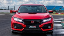 Honda Civic Type R record at Silverstone